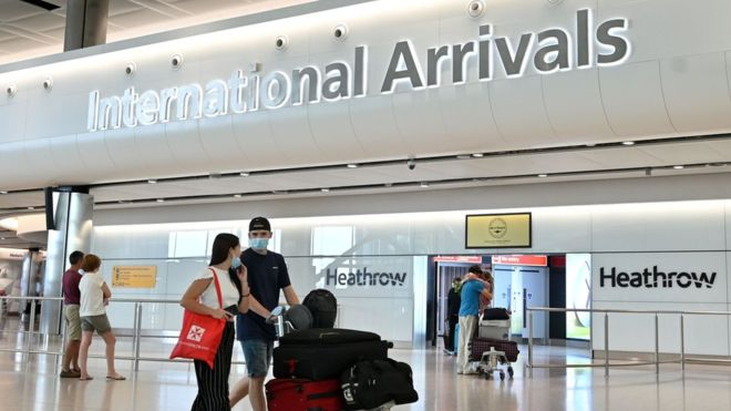 Quarantine plans for UK arrivals unveiled 6