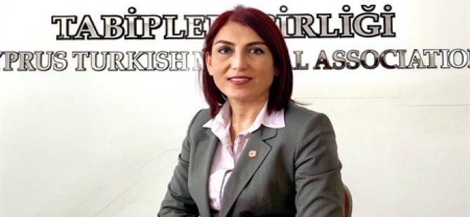 Özlem Gürkut, President of the Turkish Cypriot Medical Association (KTTB)