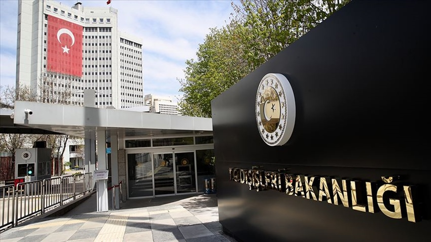 Turkish Foreign Ministry reacted to the statement of EU Foreign Ministers 7
