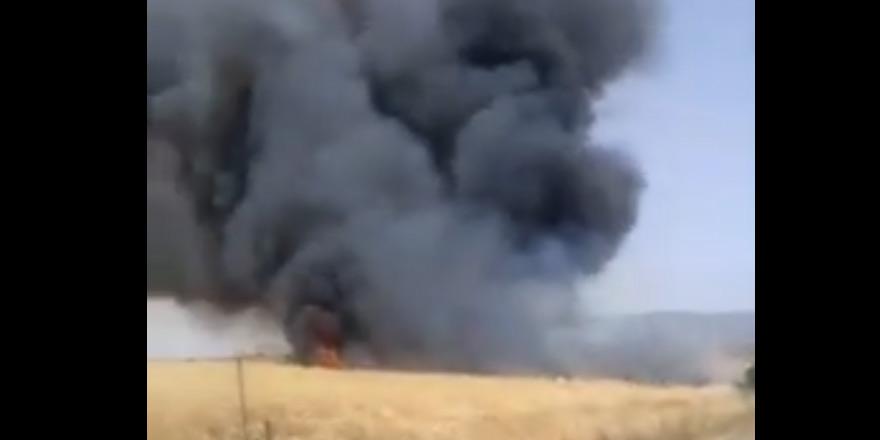 Fire between  Sınırüstü & Altınova Iskele (Video) (Update) 24