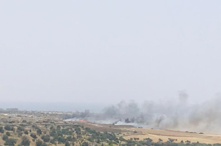 Iskele Dump on fire and moving fast (Photo Video) 25