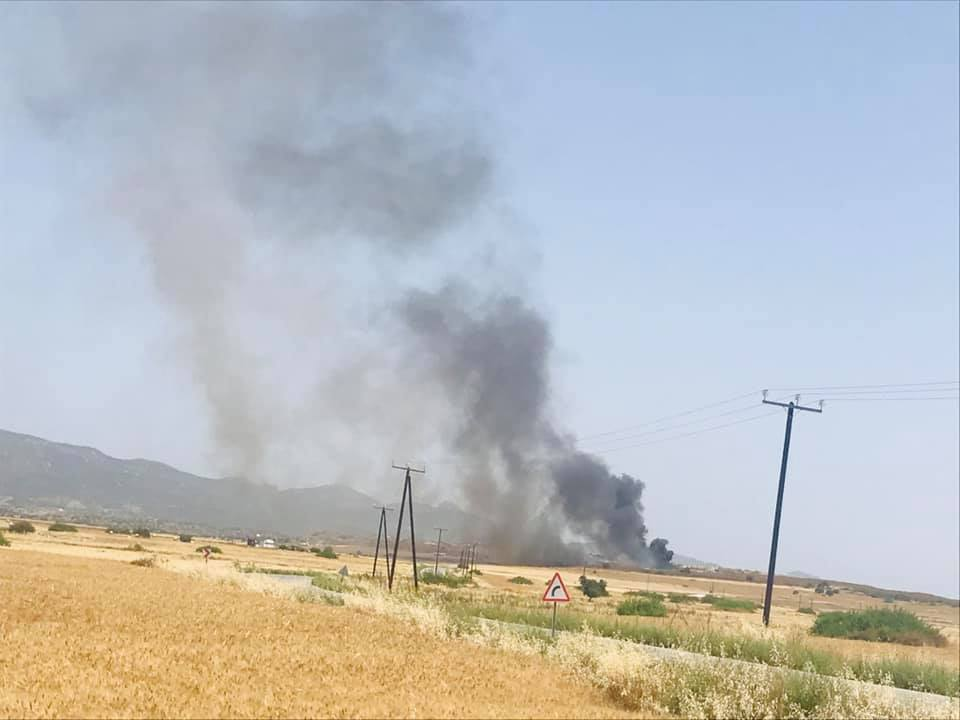 Iskele Dump on fire and moving fast (Photo Video) 27