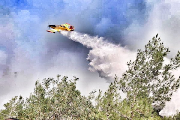 Fire Fighting Airplane from South Cyprus