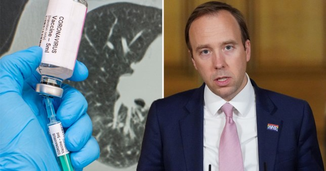 Matt Hancock hints coronavirus vaccine could be compulsory 5