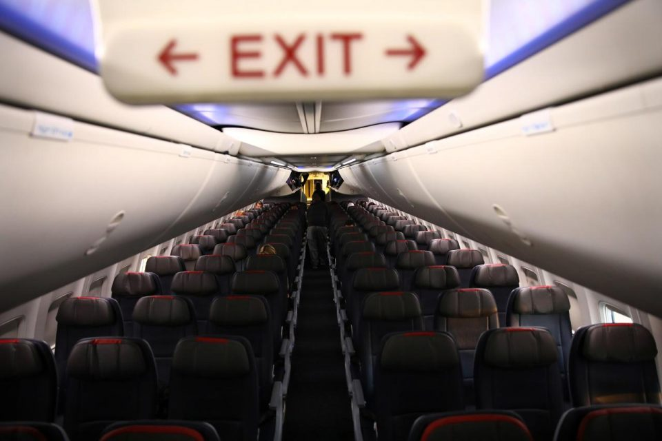 Empty middle seat? Depends on which country you are flying in 15