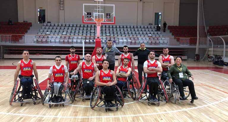TRNC Wheelchair Basketball Team promoted to the Super League 14