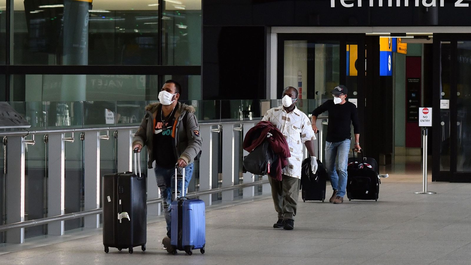 Two-week quarantines to be imposed on new arrivals to UK 8