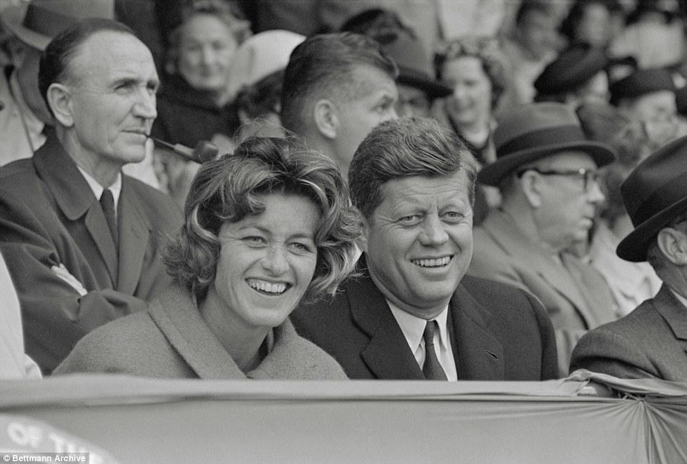 Jean Kennedy with JFK