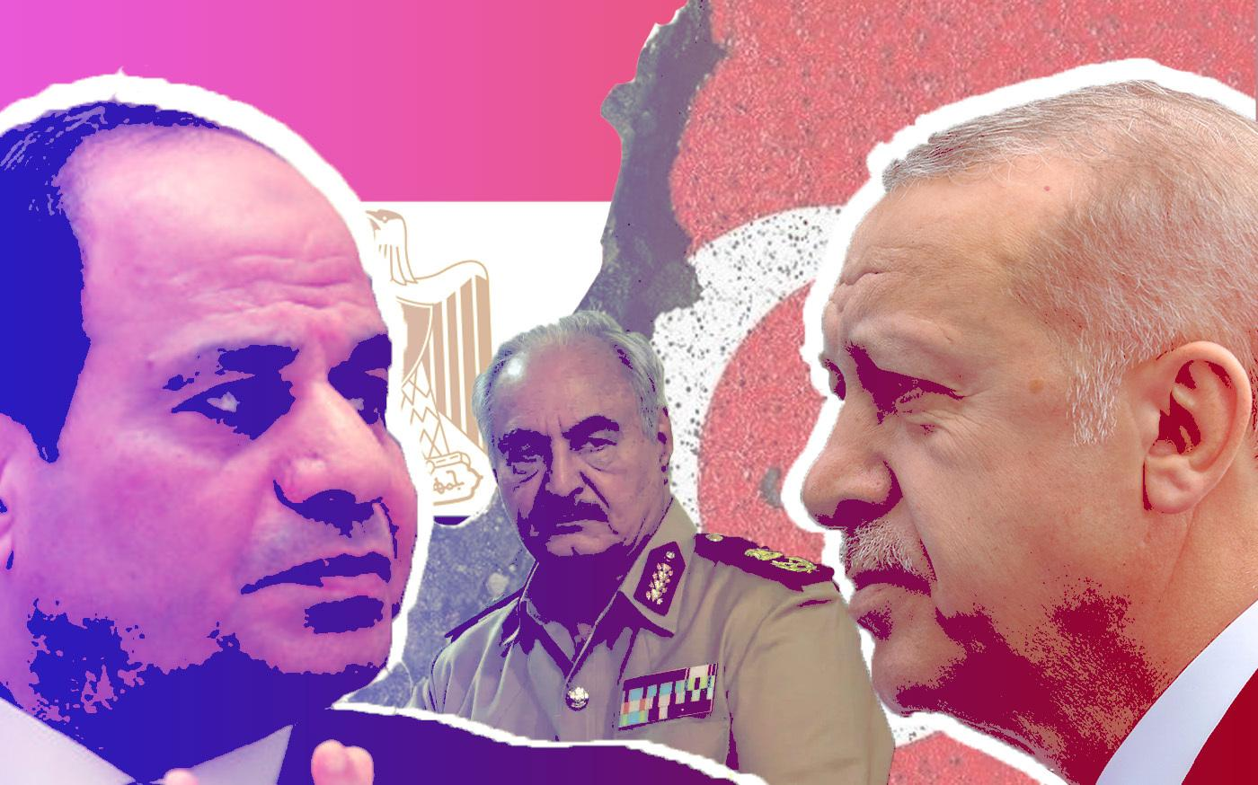 Conflict, partnership, stalemate: Egypt and Turkey's Libya options 30