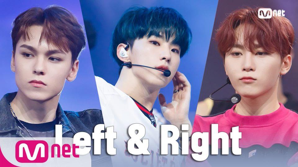 '최초 공개' ♬ Left & Right - 세븐틴(SEVENTEEN) | 세븐틴 컴백쇼 [헹가래]