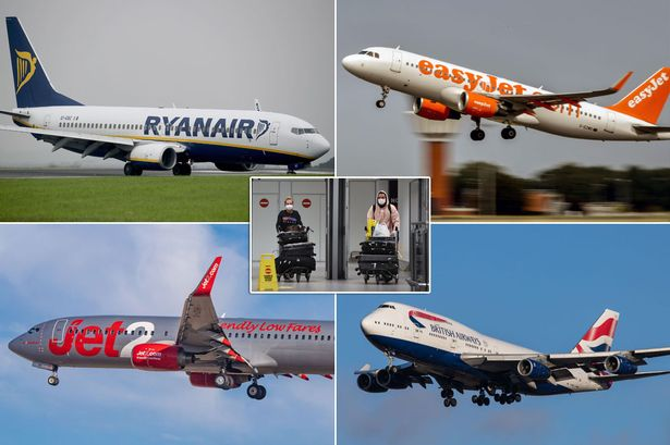 EasyJet, TUI, Ryanair, Jet2 and British Airways cancel all Greece holidays and flights 14