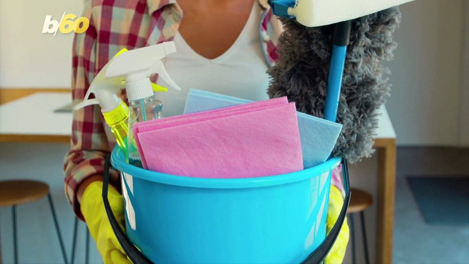 Americans Are Cleaning Wrong, According to the CDC