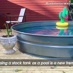 Are Stock Tanks the New Swimming Pools?
