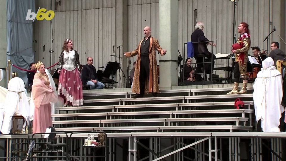 Berlin Opera Switches from Theater to Parking Garage Performances Amid COVID Pandemic!