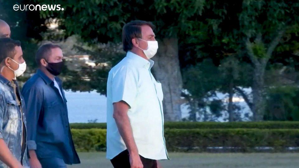 Brazil's President Bolsonaro says he's recovered from coronavirus