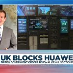 Britain decides to exclude Chinese tech giant Huawei from its future 5G network