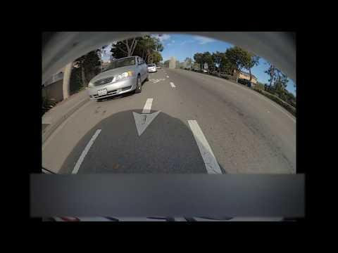 Car Crashes Into Another Car and Causes Accident Due To Overspeeding