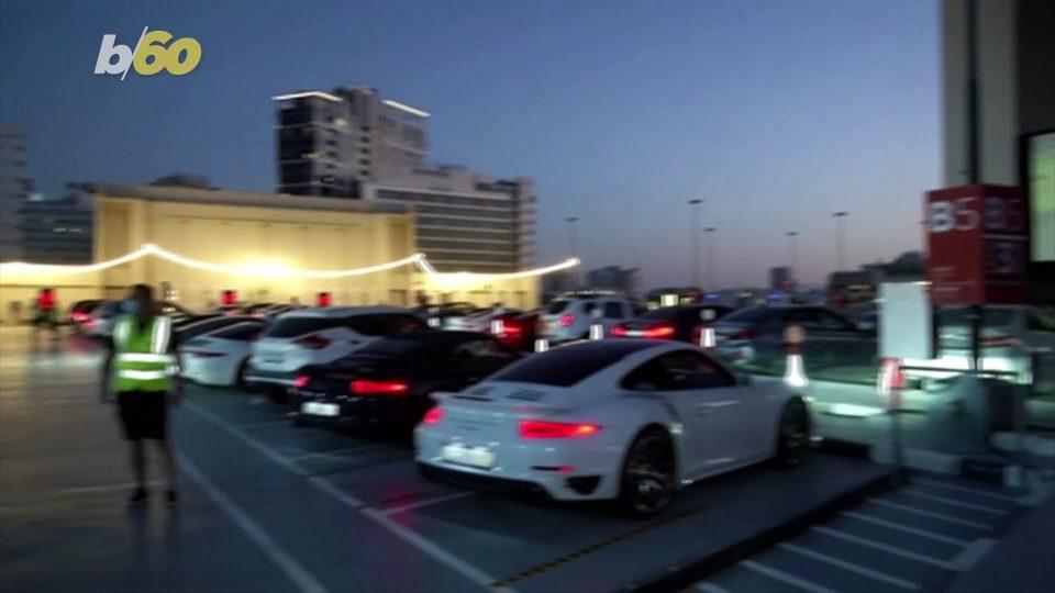 Cinema Company Turns Dubai Mall Rooftop Into Drive-In Theater Amid COVID-19 Pandemic!