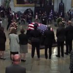 Civil rights icon Lewis honored on Capitol Hill