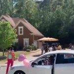 Couple Holds Drive Through Baby Shower During Quarantine