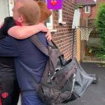 Dad Emotionally Reunites With Son Post Quarantine