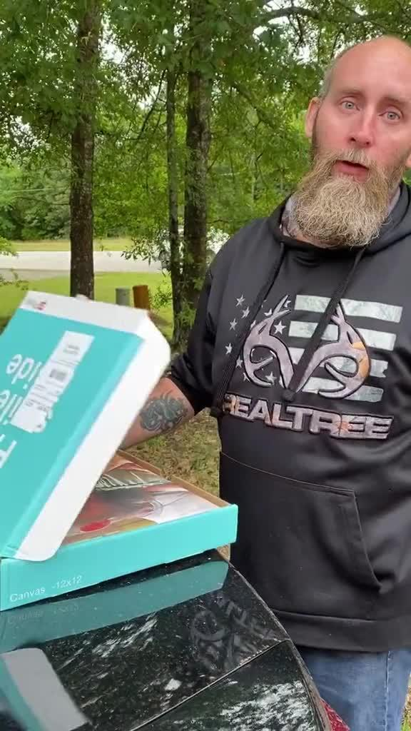 Dad Gives Emotional Reaction After Seeing his Father's Day Gift