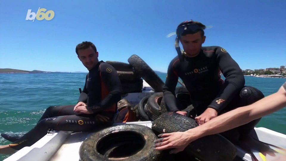 Diving Volunteers Retrieve Over 700 Tires in Coastal Cleanup Effort!