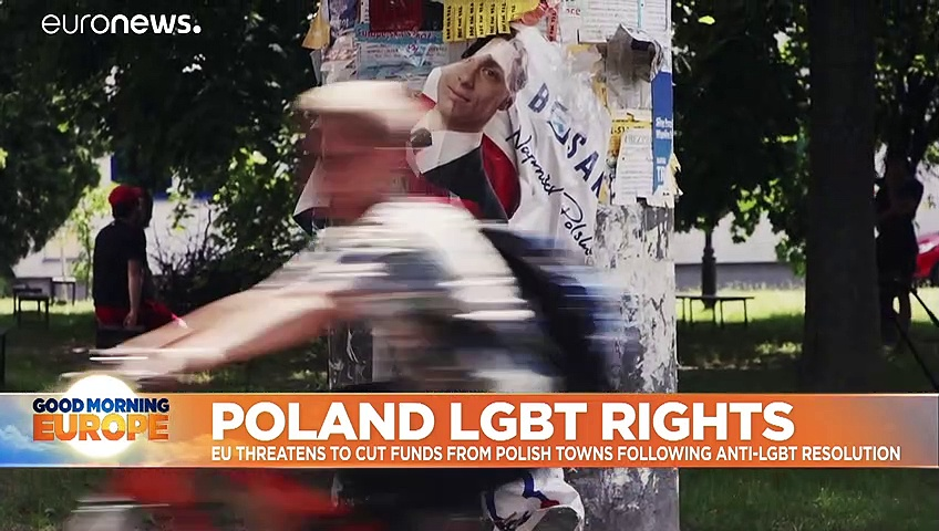 EU funding withheld from six Polish towns over 'LGBT-free' zones