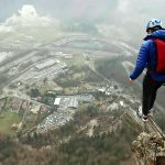 Flipping Insane! Heart-stopping Video Shows Jumper Complete an Amazing Stunt