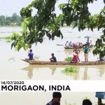 Floods wreak havoc in northeastern India