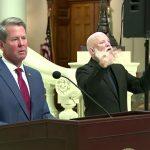 GA governor encourages masks, refuses mandate