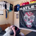 Girl Trying To Weightlift Fails and Slams Her Head On Ground
