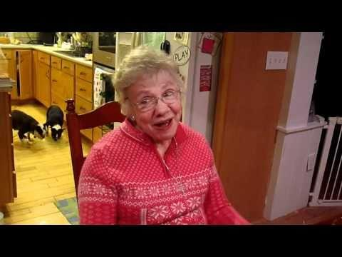 Grandma Sings Song After Sucking In Helium From Balloon