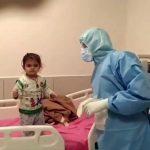 Heartwarming Video Shows Little Girl Battling Coronavirus Blowing Kisses to Nurses Treating Her