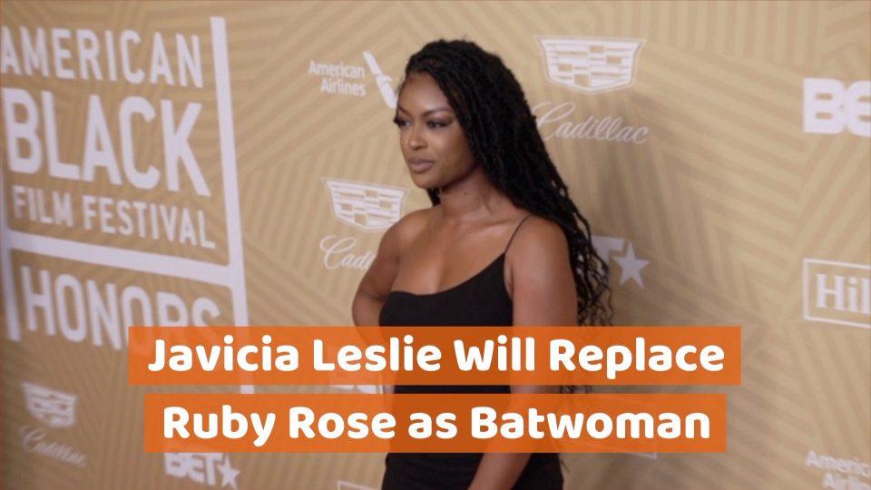 Javicia Leslie Is Batwoman