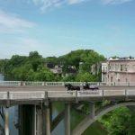 John Lewis crosses Alabama bridge one final time