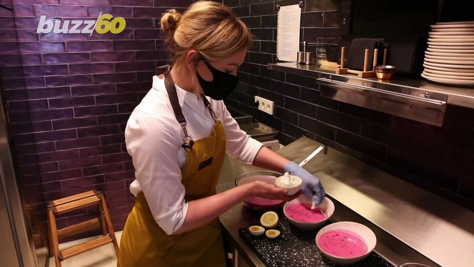 Lithuania Wants Tourists to Try Over 30 Varieties of Cold Beetroot Soup 'Saltibarsciai'!