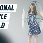 Maintain your own personal space in this solar-powered bubble shield — Future Blink