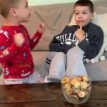 Mom Gets Busted by Kids While Taping Them Doing Toddler Temptation Challenge