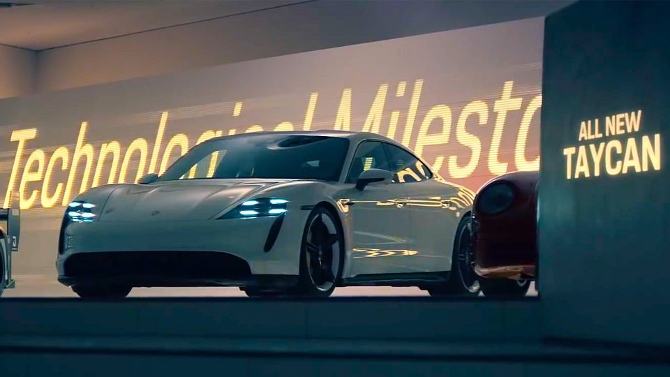 "Porsche ""The Heist"" Super Bowl Commercial 2020"