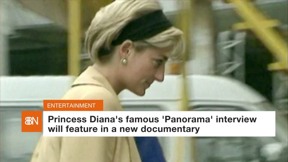 Princess Diana In A New Doc