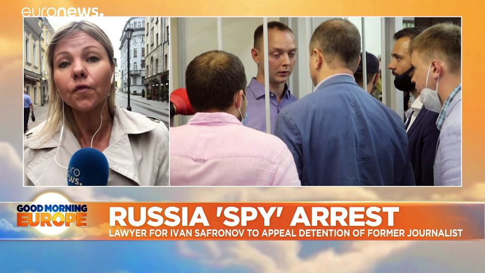 Russian official charged with spying says allegations relate to work as journalist