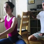 See the Adorable Moment Dads Joined Children for Online Ballet Class
