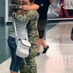 Soldier has Emotional Reunion With Family on Return From Military Training