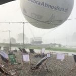 Sudden Storm Causes Observation Balloon To Explode