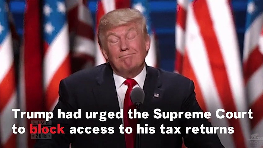 Supreme Court Rules Trump's Taxes May Be Released To Grand Jury
