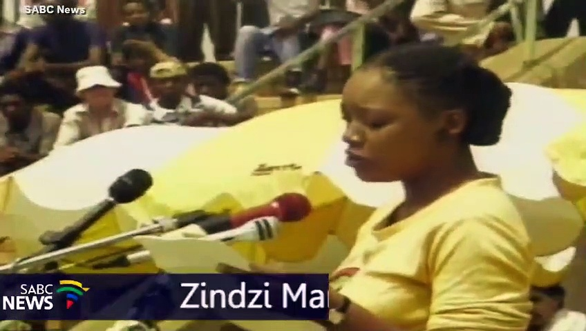 The Goosebump-Inspiring Moment Zindzi Mandela Spoke To The People When Her Parents Could Not
