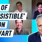 "The cast of ""Irresistible"" rave about their director, Jon Stewart"