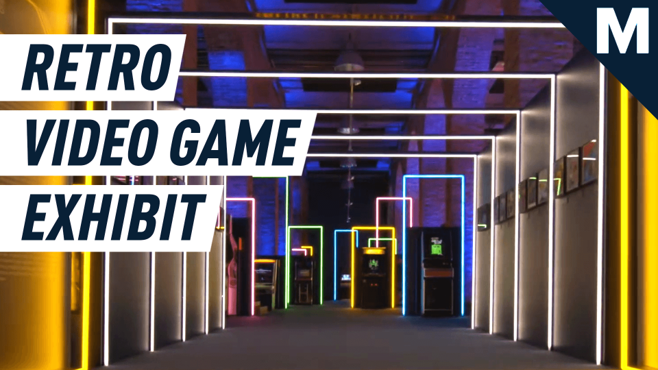 This exhibit is a video gamer's dream