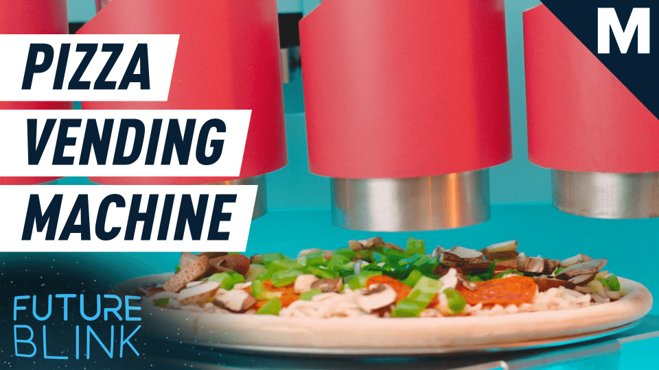 This pizza vending machine can make you a slice on the go — Future Blink